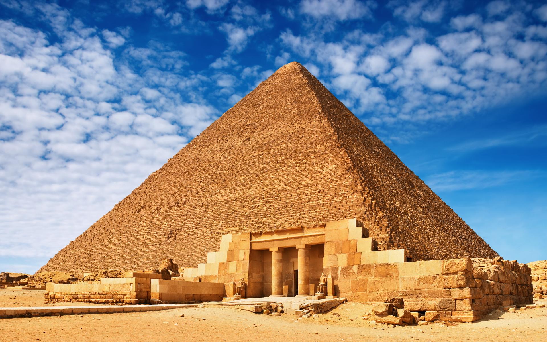 Египет решил сканировать пирамиды космическими лучами
