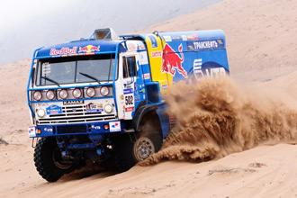 Какие автомобили КамАЗ участвуют в Дакар