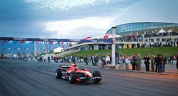 Олимпийская трасса F1 в Сочи