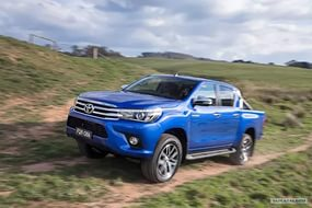Новый Toyota Hilux Pick Up