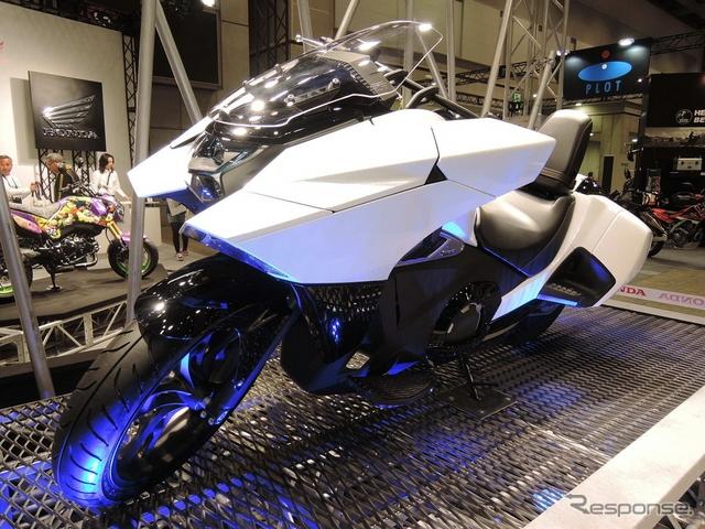 Honda выпустила футуристический мотоцикл