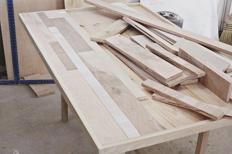 Как сделать деревянный обеденный стол