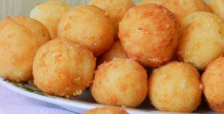 Сырные пончики с тимьяном и овсяными хлопьями